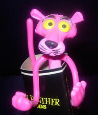 PINK PANTHER  FLEXY  BENDY  IN ORIGINAL SLEEVE  C. 1970'S  SHARP CARD AND FIGURE