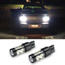 AUXITO 2x 50W 7440 T20 6000K Cree White LED Bulbs for Back Up Reverse Light Bulb