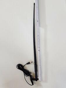 Fensterklemmantenne Scheibenklemmantenne 4-m-Unterband,BOS, 51cm lang!2dB Gewinn