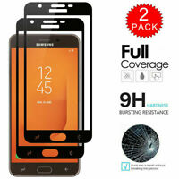 2X Full Cover Tempered Glass Screen Protector For Samsung Galaxy J7 2018/J7 Star