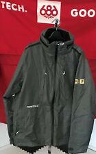 2020 NWT 686 Primitive Elevate M65 Jacket Snowboard Mens L Large 10K Grey c47