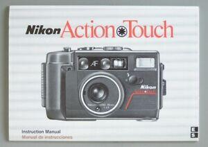 Nikon Action Touch Instruction Manual (English, Spanish) Original