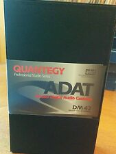 Quantegy DM 42 ADAT Master Digital Audio Cassette Tape  in Hard Shell Case-Used