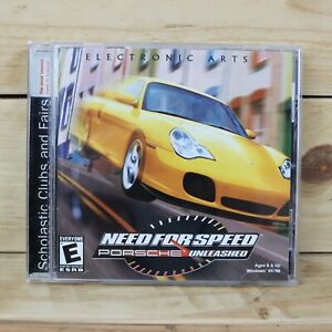 Need for Speed Porsche Unleashed. PC Game. 💿 CD Windows 95/98 ~ Electronic Arts