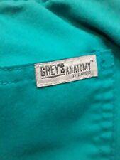 Grey's Anatomy Women's Size Large Signature Scrub Pants By Braco Green Pockets