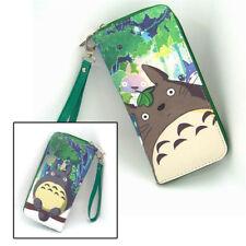 Anime My Neighbor Totoro Polyurethan Geldbörse brieftasche PU Purse Wallet A