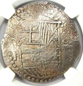 1605-13 Bolivia Philip III Cob 8 Reales Coin (8R) KM-10 - Certified NGC VF30