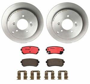 Brembo Rear Brake Kit Ceramic Pads Disc Rotors For Tucson Sportage AWD 2011-2013