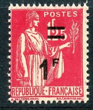 STAMP / TIMBRE DE FRANCE NEUF N° 483 ** TYPE PAIX SURCHARGEE