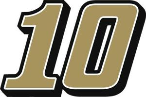 NEW FOR 2020 #10 Aric Almirola Racing Sticker Decal - SM thru XL - Various color