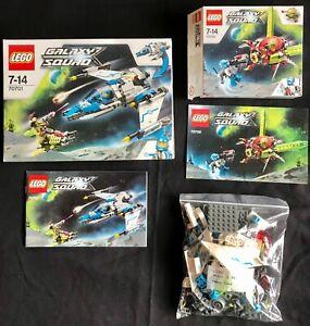 LEGO Galaxy Squad 70700 + 70701. Boîte et notice. Très bon état.