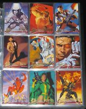1996 Fleer Ultra X-Men: Wolverine BASE Set of 100 Cards NM/M, Marvel RARE!!