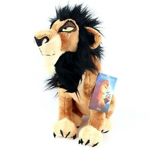 Disney Store Scar Plush – The Lion King – Medium – 14''