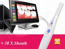 New 5.0 MP USB Intraoral Oral Dental Camera HK790+ 50 pcs Sheath Denshine