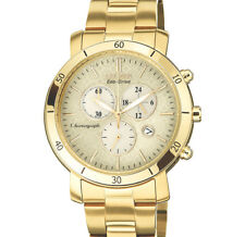 Citizen Eco-Drive Chrono Stainless Steel Ladies Women's Watch Gold Fb1342-56P