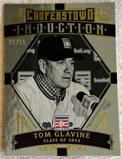 Panini Cooperstown Induction 2015 #6 Tom Glavine Rare Card 01/25