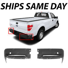 NEW Primered Steel Rear Bumper Ends Pair LH RH Set for 2009-2014 Ford F150 09-14
