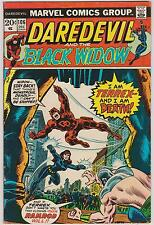 MARVEL COMICS - DAREDEVIL #106 - DEC 1973 - BLACK WIDOW TEAM UP