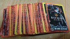 Batman Topps 88 Cards 1992
