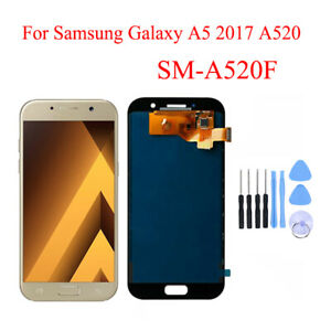 OLED For Samsung Galaxy A5 2017 A520 LCD Display Screen Touch Screen Digitizer