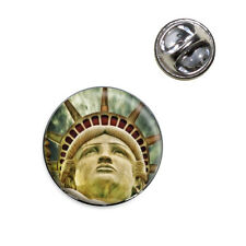 Lovely Lady Liberty Lapel Hat Tie Pin Tack