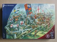 Agincourt ENGLISH - 28mm (Perry Miniatures) - Choice BOW or KNIGHT - 8 MODELS