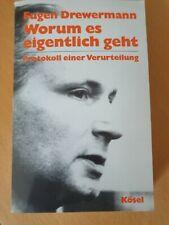 Eugen Drewermann: Worum es eigentlich geht
