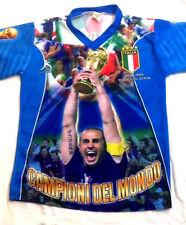 Nazionale Italiana Campioni del Mondo 2006 - Taglia 6 Anni -ITALIA T-Shirt Usata