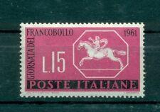 Italia Repubblica 1961 - B.1030 - Giornata del Francobollo