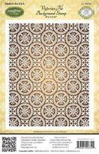 Justrite-victoriano Sello de fondo de Azulejos