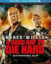 A Good Day to Die Hard (Blu-ray/DVD, 2013, 2-Disc Set)