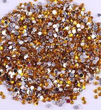 Wholesale 2000pcs 2mm Hotfix Iron On Flatback DMC Crystal Glass Rhinestone DIY