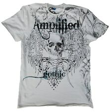 Amplified Saints & Sinners Gothic pedrería estrella de rock diseñador vip Wow t-shirt g.s