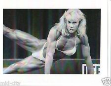 Ms Olympia CORY EVERSON Female Bodybuilding Muscle Fitness Photo B&W