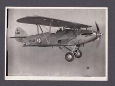 HAWKER HIND K5400 ORIGINAL VINTAGE PRESS PHOTO RAF 610 SQN 1942