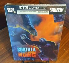 Godzilla vs Kong 4K Collector STEELBOOK (4K+Blu-ray+Digital)NEW-Free Box Shippin