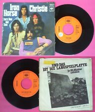 LP 45 7'' CHRISTIE Iron horse Every now and then 1971 germany CBS no cd mc dvd