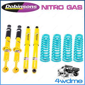 "For Nissan Navara NP300 D23 Dobinsons Shocks + Coil Spring Complete 2"" Lift Kit"