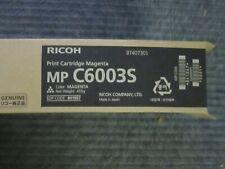 Genuine Ricoh MP C6003s Magenta Toner Cartridge 841867 6003