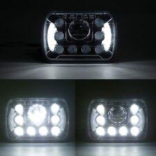 H4 LED HEAD LIGHT 5 X 7 INCH Semi Sealed For HILUX LED Headlights SQUARE Halo
