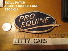 PRO EQUINE EMBROIDERED SMALL PATCH - STOCK#1