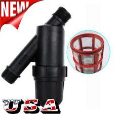 "3/4 "" Screen Filter Water Tank Pool Pump Strainer Gardening Drip Irrigation US"