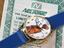 The Official E.T. Watch By Nelsonic  - Never Worn- 1982 Universal City Studios