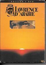 COFFRET COLLECTOR 3 DVD ZONE 2--LAWRENCE D' ARABIE--LEAN/O' TOOLE/QUINN