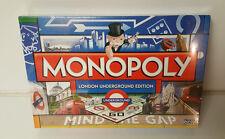 Monopoly London Underground Edition Mind The Gap  Still SEALED!