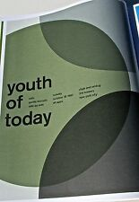 Youth of Today Mini-Poster Concert Reprint 198 New York City 14X10 Framable