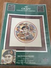 Montgomery Cross Stitch Kit The Craft Collection Outer Packing Missing Complete