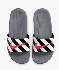 🎁SALE🎁NEW Nike Kids Girls Boys Slippers Slide Sandal Flip Flop 11C to 7Y