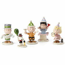 Lenox Peanuts Happy Year Figurines Eve Party Charlie Brown Snoopy Lucy