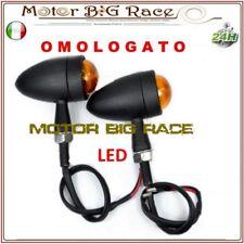 4x MOTO UNIVERSALE 12 LED INDICATORI DIREZIONE SEGNALE FRECCE LUCE Gialla M14
